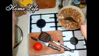 Куриная грудка с овощами и гречей/Диетическое блюдо