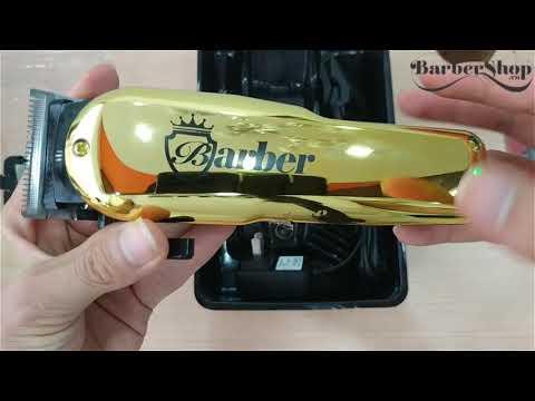 Tông Đơ Barber Gold Lưỡi Kép Mạ Vàng Đã Quay Trở Lại