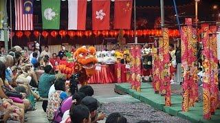 2015 Lion Dance Competition - 泰國紅寶石美龍獅體育會