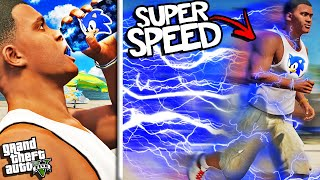 FRANKLIN Gets SUPER SONIC SPEED In GTA 5 (Super Powers)