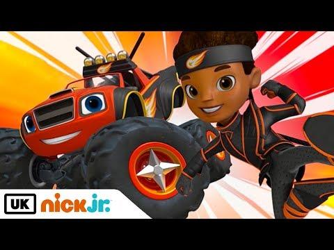 Blaze And The Monster Machines | Ninja Blaze | Nick Jr. UK