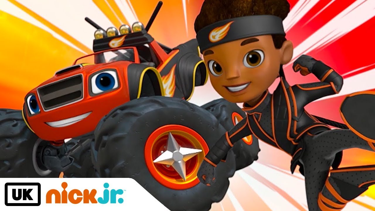 Blaze And The Monster Machines Ninja Blaze Nick Jr Uk Youtube