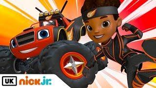 Download Blaze and the Monster Machines | Ninja Blaze | Nick Jr. UK