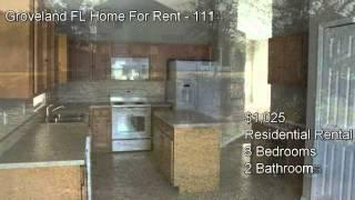 Groveland Fl Home For Rent