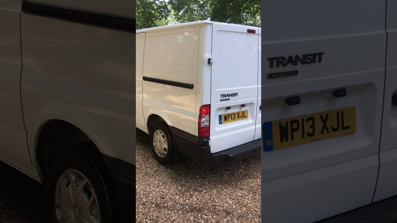 more photos better fashion 2013 Ford Transit Van For Sale On Ebay UK - YouTube