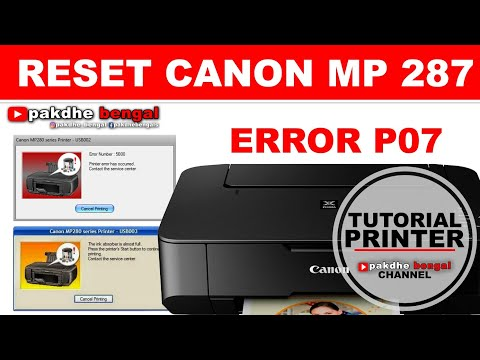 Canon Mp 237 Error 5b00 Canon Mp287 Mp237 Mp258 Support Code 5b00