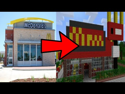 I opened a Mcdonald's in Minecraft!