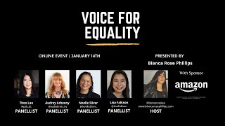 Voice for Equality, January 2021