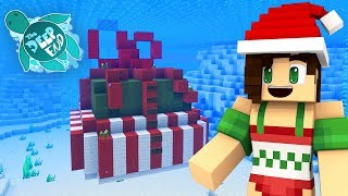 Opening A Giant Underwater Present! | Minecraft The Deep End SMP