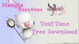 Final Fantasy 13-2 Moogle Kupo Kupo Text Alert SMS Tone Ringtone