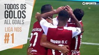 Todos os golos da jornada (Liga 19/20 #1)