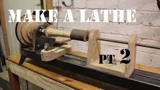 How to Make a Wood Lathe From Scratch - The Headstock