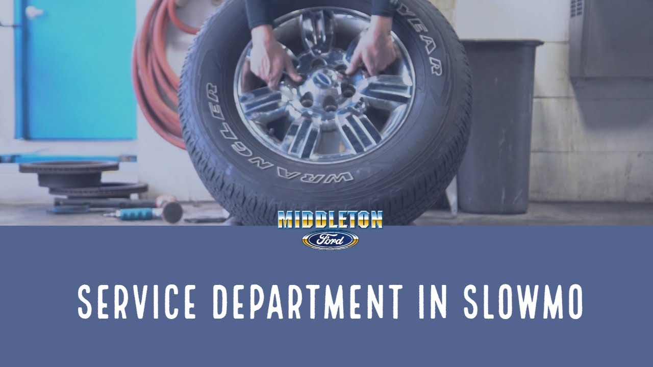 Middleton Ford Service Department In Slow Motion
