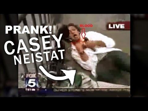 CASEY NEISTAT PRANK ON TV  2006 Gone wrong!