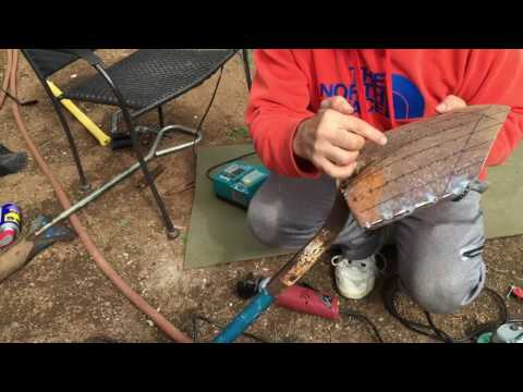 How to build your own sand scoop / shovel Water or Sand