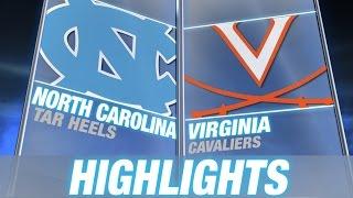 North Carolina vs Virginia | 2014 ACC Football Highlights