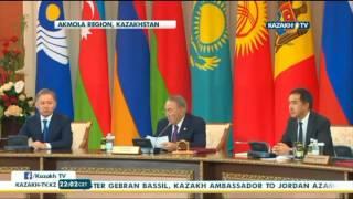 ТМД елдері басшылары Кеңесінің отырысы - Kazakh TV