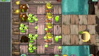 Plants vs. Zombies 2 Pirate Seas Day 10 Last Level ios iphone gameplay