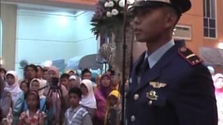 Pedang Pora TNI AU Andini dan Letnan Hendrik