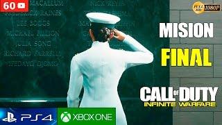 Call of Duty Infinite Warfare Mision Final Español Gameplay PS4 | Campaña Historia Ending (60fps)