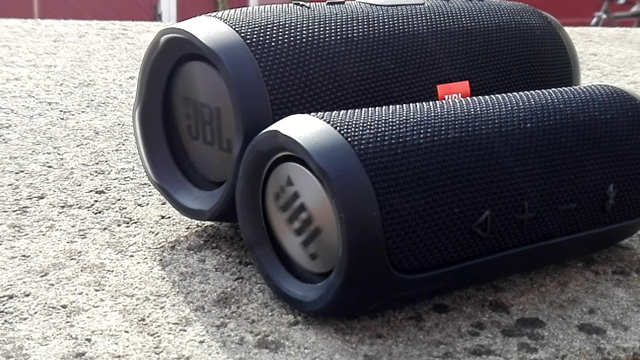 JBL Charge 3 and JBL Flip 3 se Bass Test (100% Volumen Lfm Off)