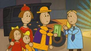 """""""Машинки"""", новый мультсериал для мальчиков - В автосалоне (серия 28) Развивающий мультфильм"""