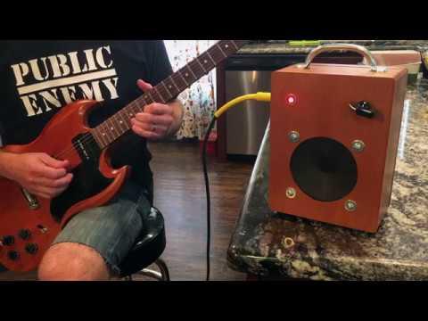 DIY Project #26: Cigar Box Amp #3
