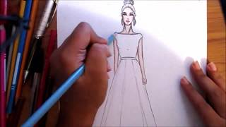 Fashion Sketches Viyoutube Com