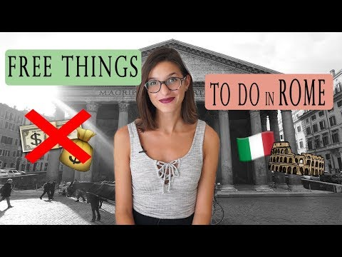 FREE Things To Do In Rome! 🚫💲