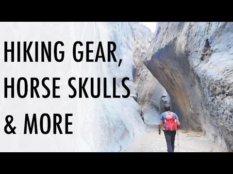 Hiking Gear, Horse Skulls & Rock Art (Vandwelling/SUV Camping Adventures)