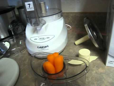 How To Chop Slice Shred Carrots Veggies Cuisinart Food Processor Vs. Black  Decker