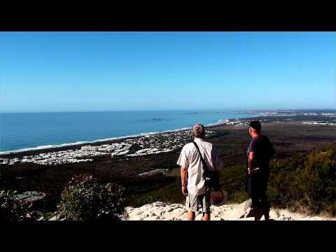 Climbing Mount Coolum