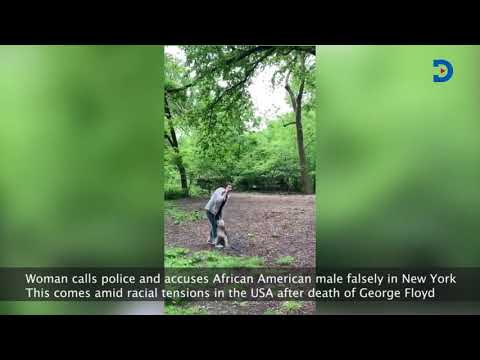 Video of woman calling police while accusing an African American man falsely goes viral