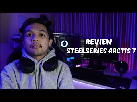REVIEW BEST WIRELESS GAMING HEADSET   SteelSeries Arctis 7 Indonesia