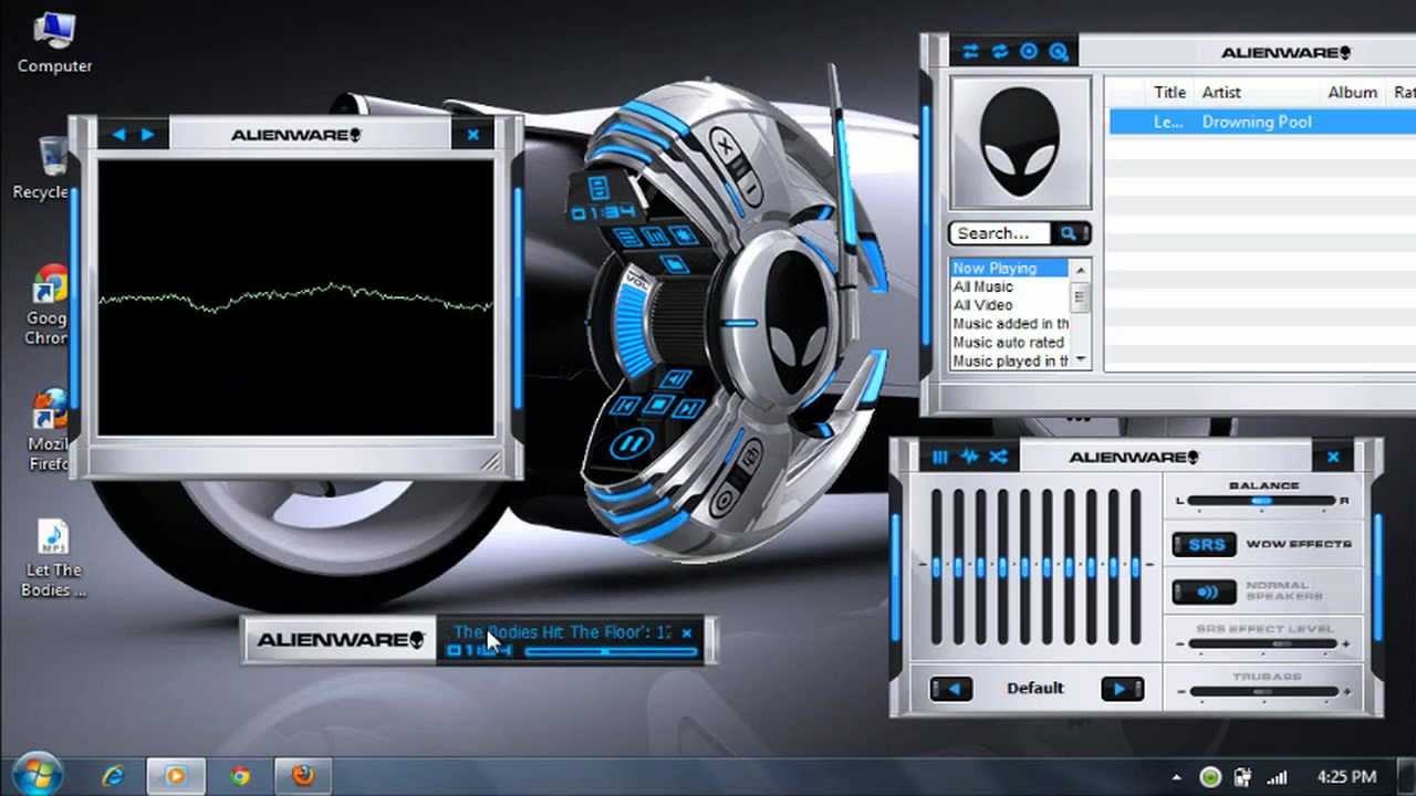 Windows media player 12 themes.