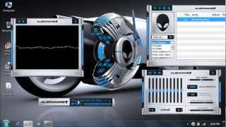 Alienware Windows Media Player skin for win xp/vista/7 2012