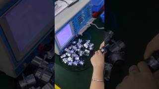 the electrical test of RJ45 panel mount connector