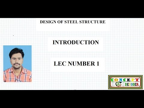 DESIGN OF STEEL STRUCTURE/BASICS FROM SOM/HINDI