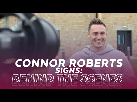 SIGNALS FROM CONNOR ROBERTS    Behind the scenes