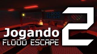 Spielen Flood Escape 2, und einige Tipps! -ROBLOX