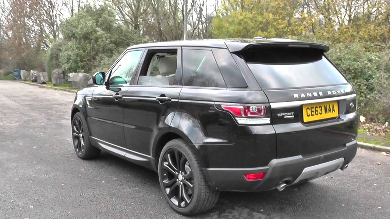 land rover range rover sport 3 0 sdv6 hse 5dr auto u8715 youtube. Black Bedroom Furniture Sets. Home Design Ideas
