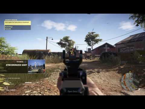 Ghost Recon: Wildlands Two-player Co-op Gameplay [PS4]