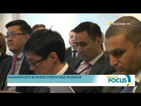 Kazakh Dutch business forum held in Hague