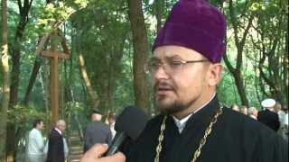 Krzyż prawosławny ku czci rosyjskich żołnierzy