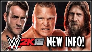 WWE 2K15 - Real Time Updates, JBL On Commentary, CM Punk, Sliders, CAWs & Much More!