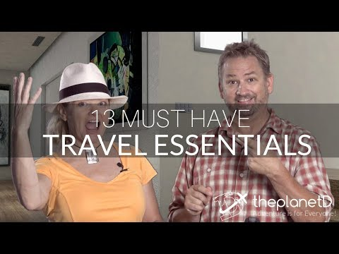13 Travel Essentials - Unique Gear for Smart Packing | The Planet D