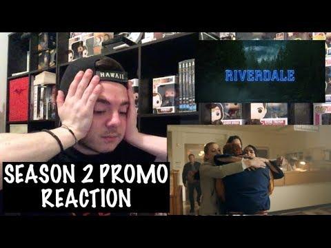 RIVERDALE - SEASON 2 PROMO REACTION