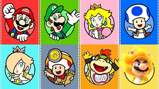 Super Mario 3D World + Bowser's Fury - All Characters