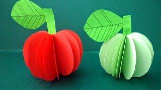 Creativ paper apples 3D