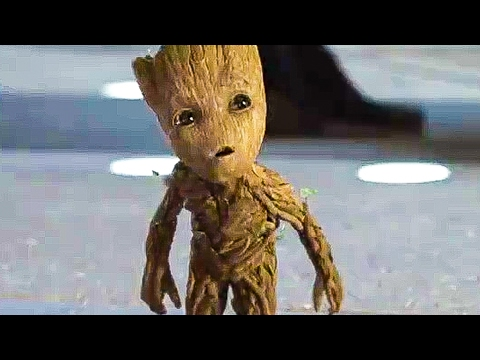 GUARDIANS OF THE GALAXY 2 'Baby Groot & Rocket' TV Spot Trailer (2017)